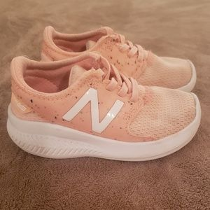 Toddler Girl New Balance Pale Pink Running Shoes